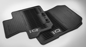 2012 2013 2014 2015 SCION IQ FLOOR MATS RUBBER ALL WEATHER OEM